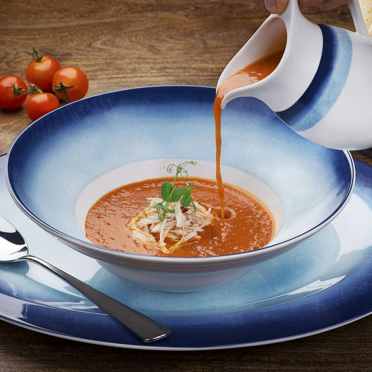 Food Photography Of Tomato Soup
