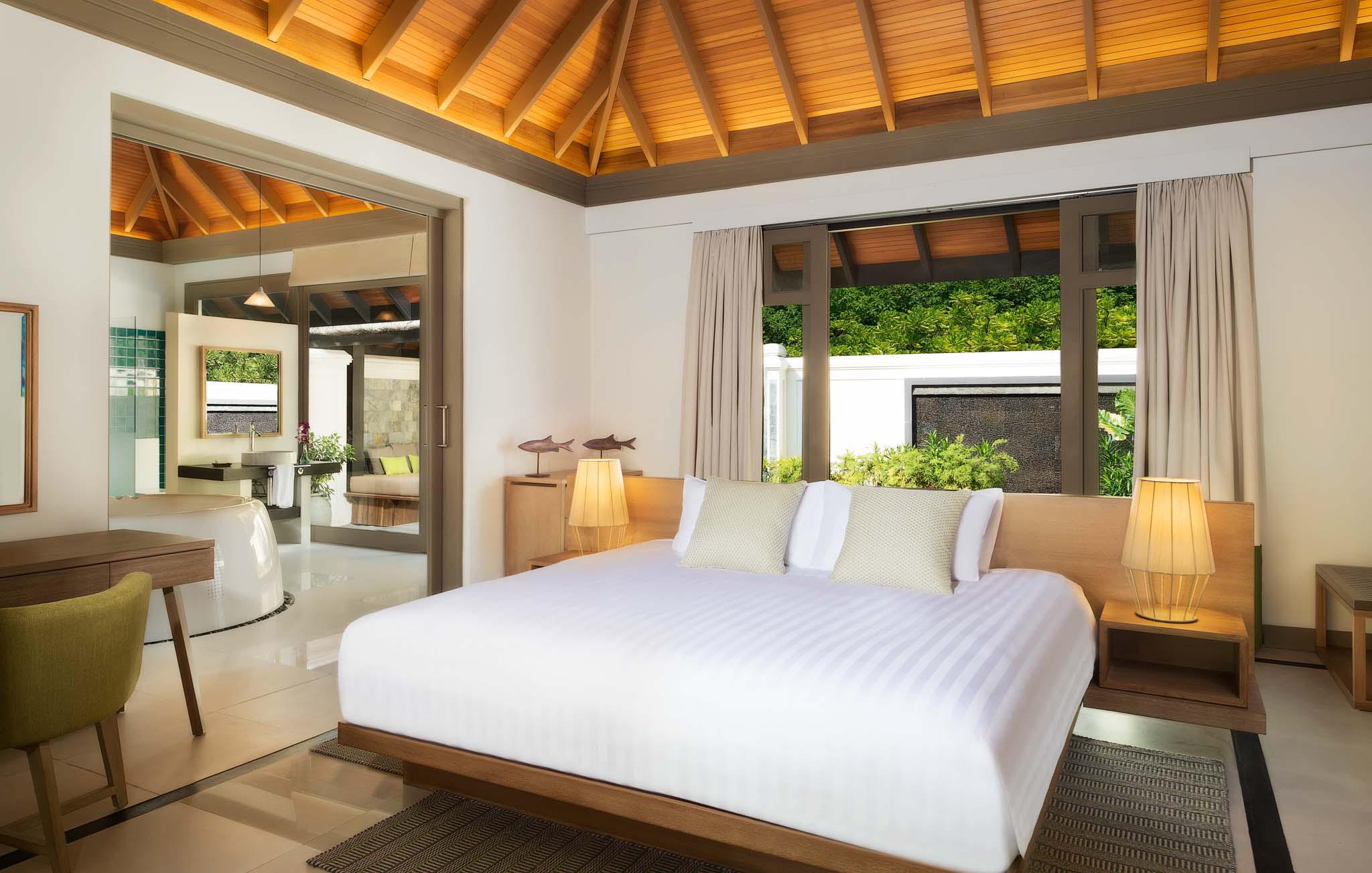 Hotel Photographer - Luxury Bedroom Suite In Maldives