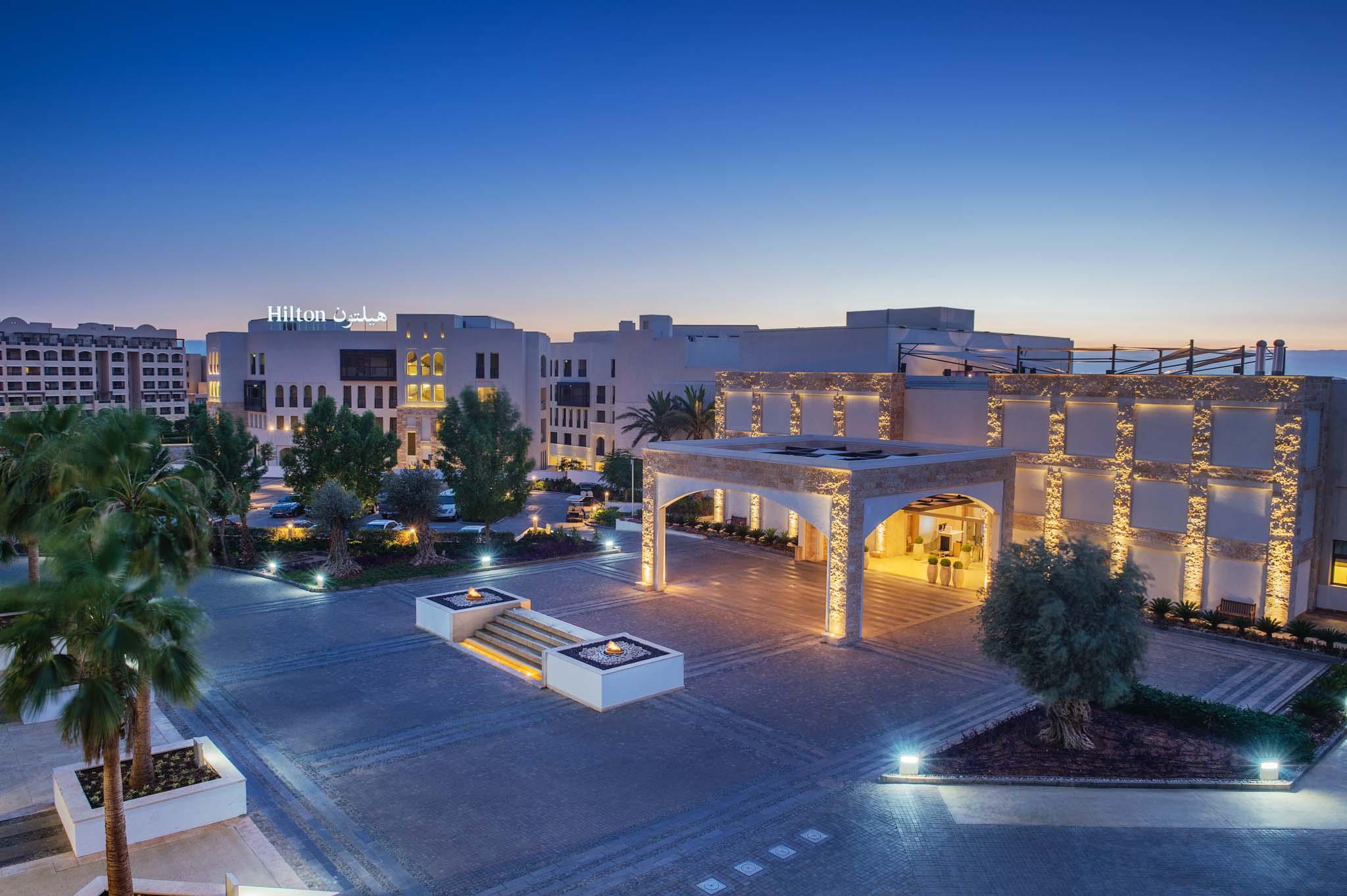 Hotel Photographer - Hilton Dead Sea Exterior