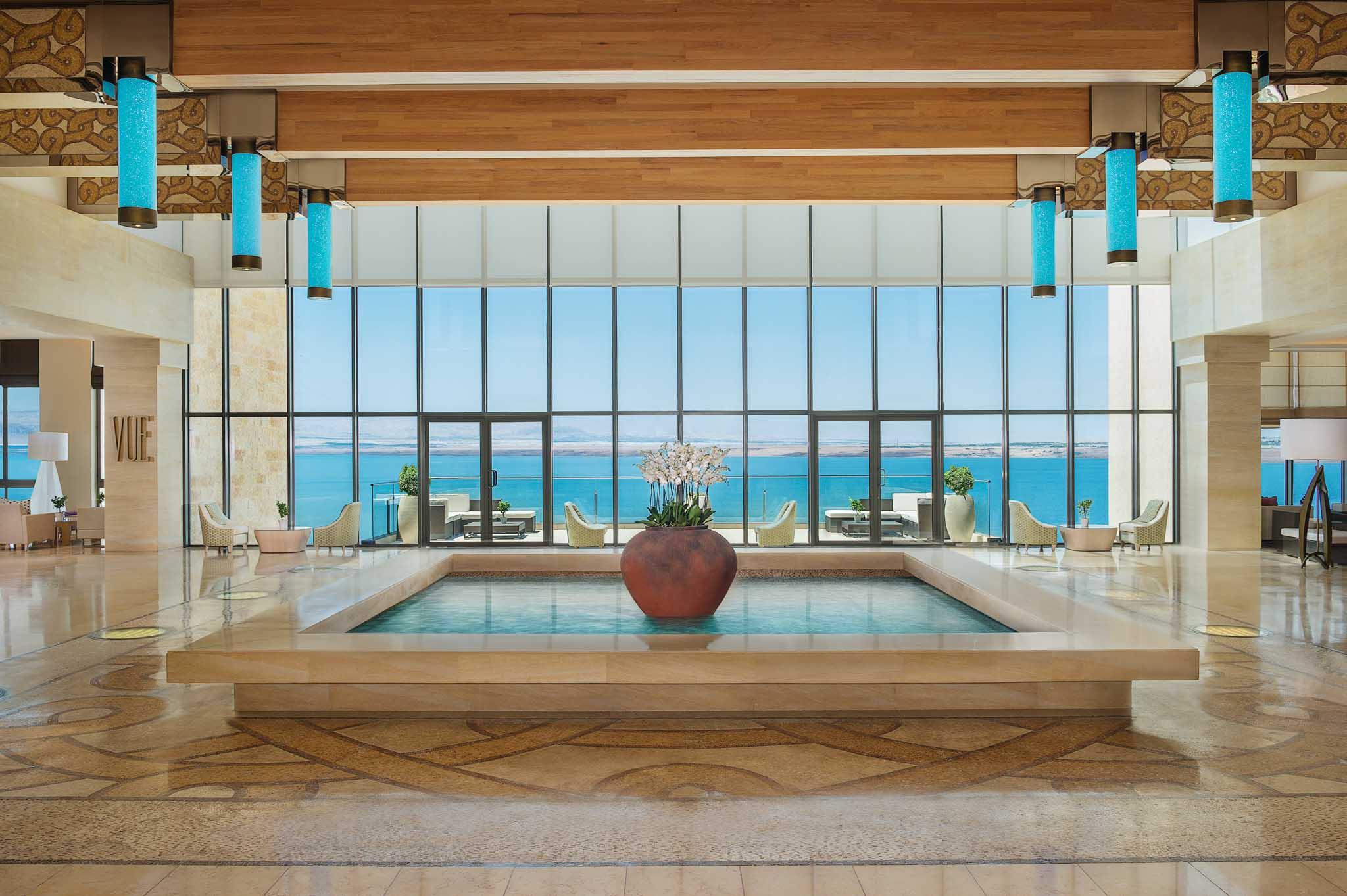Hotel Photographer - Hilton Dead Sea Lobby