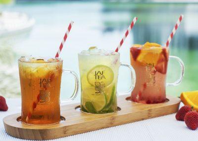 Product Photographer - Styled Ice Tea Service