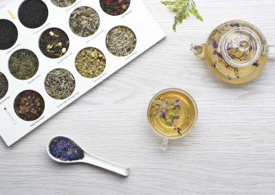 Product Photographer - Styled Tea Setup
